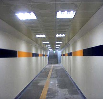 경의선 화전역 지하통로 개설공사